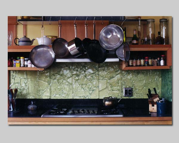 Kitchen Stove Top Back Splash